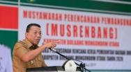 Bupati Bolmut Buka Musrenbang RKPD Tahun 2020